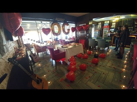 Süpriz müthiş doğum günü Gaziantep Elayla Cafe de
