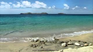 Nature Relax Screensaver - Les Saintes Island