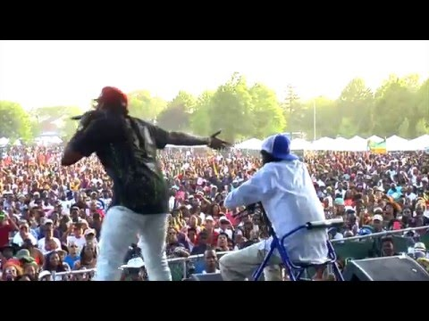 R.I.P Jimmy Riley - Tarrus Riley Live (Oracabessa 2015)