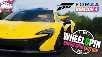 FORZA HORIZON 4 - WHEELSPIN Super Spin : Jetzt kommen die dicken Spins - Forza Horizon 4 MULTIPLAYER