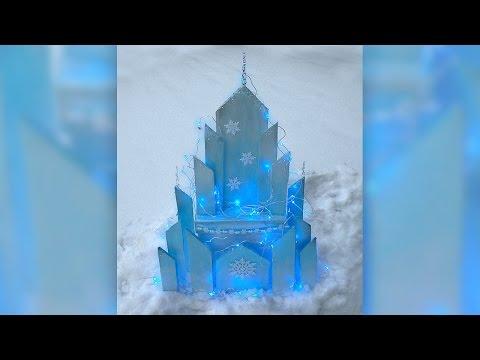 DIY Elsa's Ice Castle - Disney Frozen