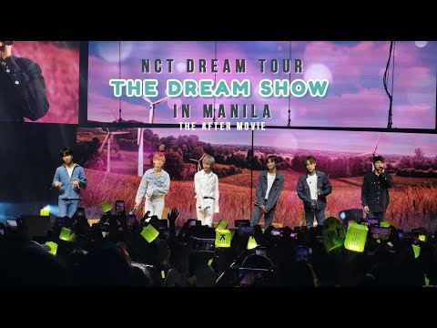 "NCT DREAM TOUR ""THE DREAM SHOW"" in MANILA After Movie"