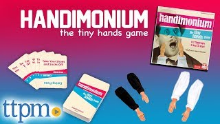 Handimonium - A Tiny Hand Gameplay with 3 Modes | Party Games | Mattel Toys & Games