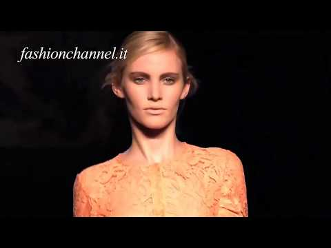 FRANCESCO SCOGNAMIGLIO SS 2012 Milan HD 1 of 2 pret a porter women by Fashion Channel