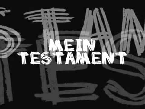 Sido Mein Testament LYRICS
