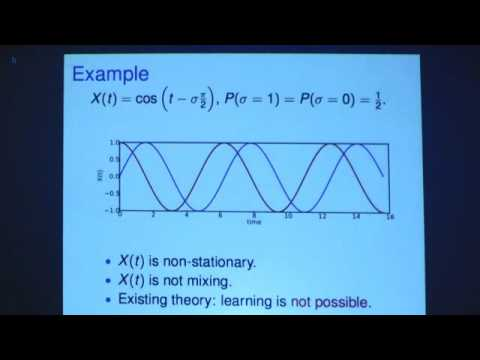 Oral Session: Learning Theory and Algorithms for Forecasting Non-stationary Time Series