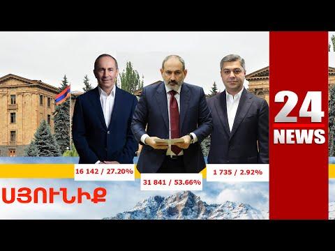 Փաշինյանին ցույցերով դիմավորած Սյունիքի գյուղերում ՔՊ-ն հաղթել է «Հայաստան» դաշինքին