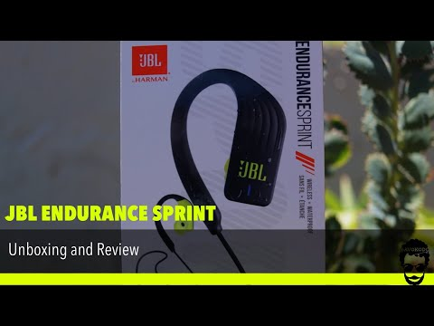 JBL ENDURANCE Sprint - Waterproof, Wireless Sport Headphones Review and Unboxing