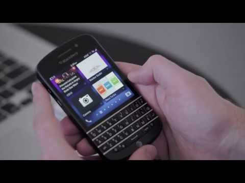 BlackBerry Q10 First Look And Review!