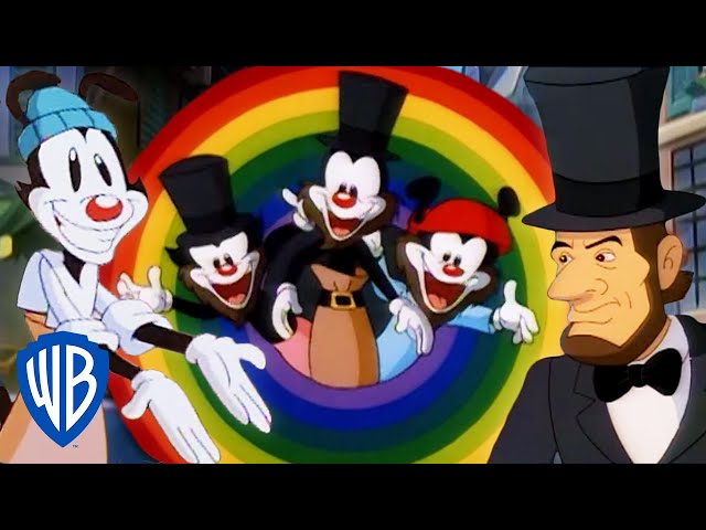 Animaniacs | The Greatest Historical Figures | Classic Cartoon Compilation | WB Kids