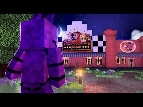 Visiting Freddy Fazebear's Pizzeria - Minecraft Secret Life Of Bonnie - (Minecraft Roleplay)