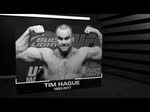 R.I.P. Tim Hague 1983-2017