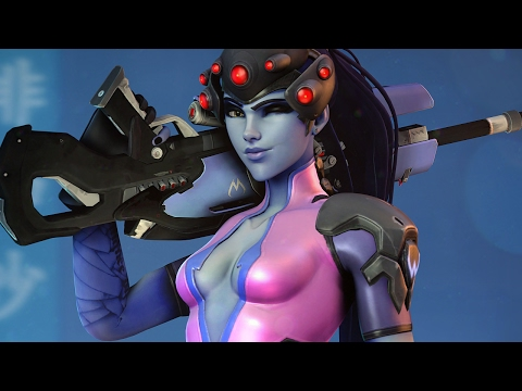 Widowmaker being played by someone who sounds like Widowmaker [Overwatch]