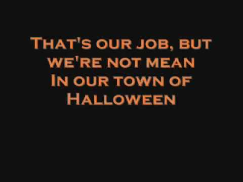 The Nightmare Before Christmas- This Is Halloween (lyrics)