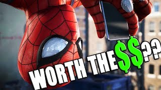 Is the Marvel's Spider-Man PS4 Collector's Edition and Digital Deluxe Edition Worth The Money??