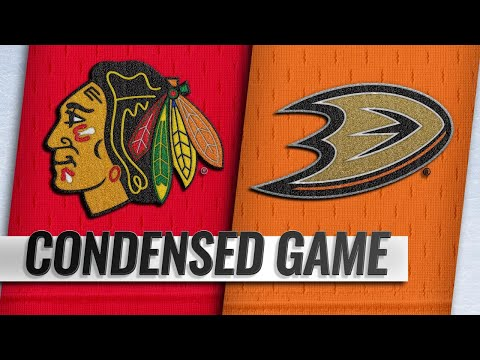 12/05/18 Condensed Game: Blackhawks @ Ducks