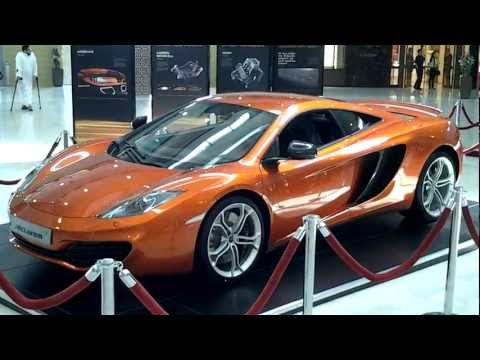 McLaren MP4-12C at Dubai Mall, Dubai, UAE. Price 960,000 - 1,200,000 AED (Emirati Dirham)