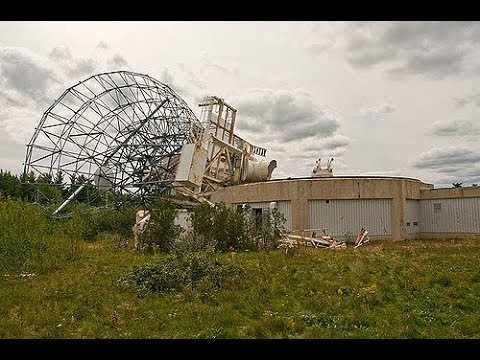 ABANDONED SATELLITE STATION [Middle of the woods - Episode 91