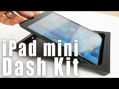 IPad Mini SIDE SLIDER Car Dash Kit From SoundmanCA.com
