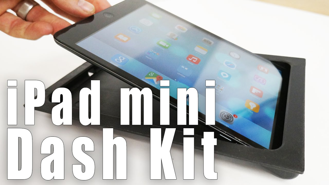 iPad mini SIDE SLIDER Car Dash Kit from SoundmanCA com