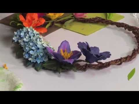 How to Use Sizzix Thinlits Bearded Iris Flower Die