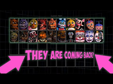 FNAF ULTIMATE CUSTOM NIGHT TEASER 2 | THEY ARE ALL BACK!