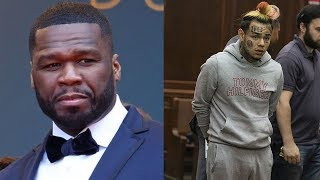 """50 Cent Tells 6IX9INE """"Don't Call Me"""" After He Tried Hiring A Lawyer To Help Him Before He Snitched"""