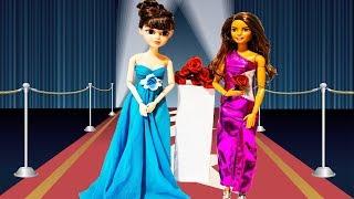 Модный показ одежды для кукол с АЛИ-Экспресс Модели участницы шоу ХОЛОСТЯК #МалинкиDOLL
