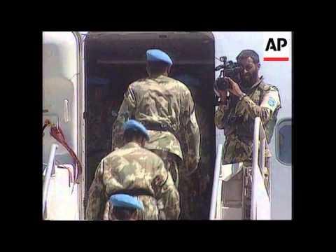 Somalia - Anti-US Demo As Pakistani Contingent Mov