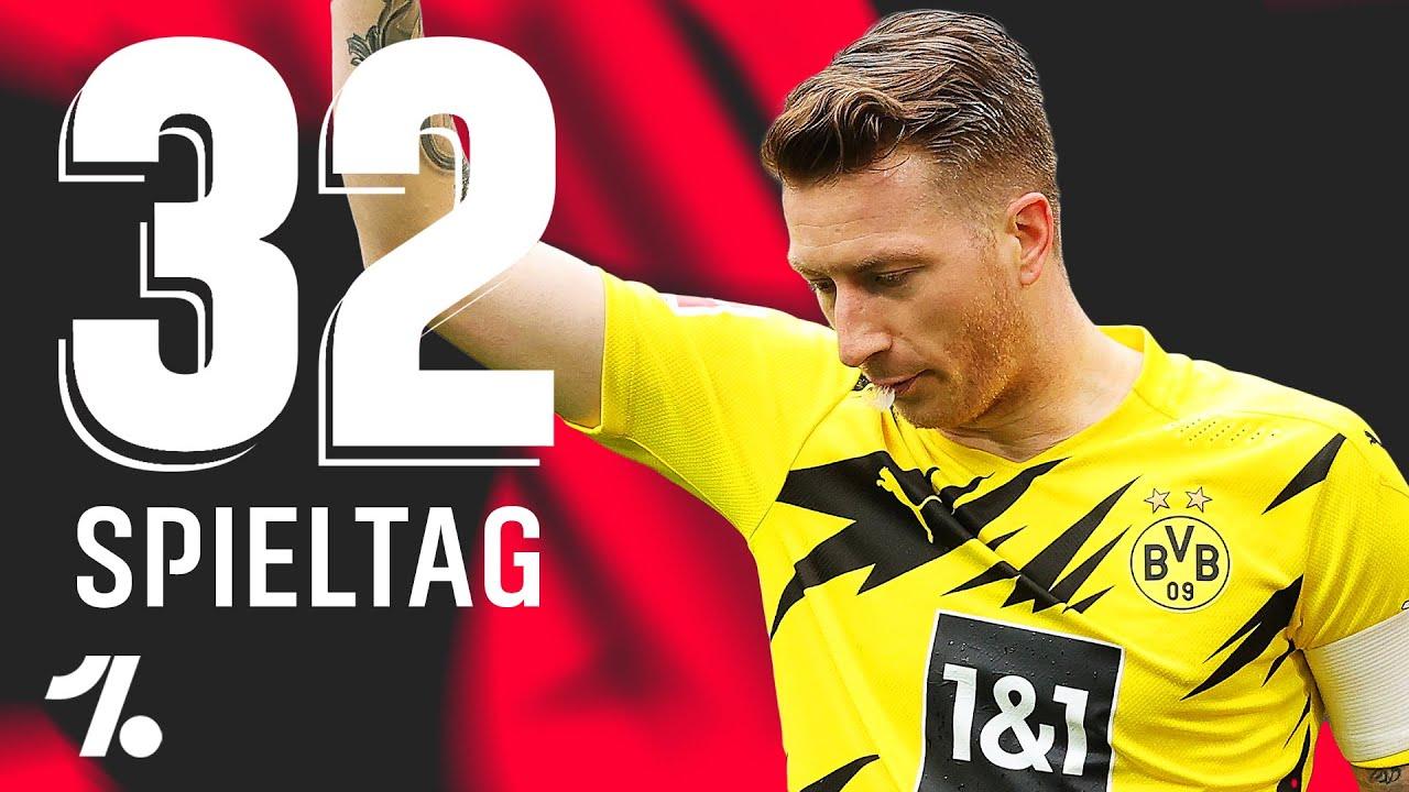 OneFootball Bundesliga Rückblick 32. Spieltag! Marco Reus schiesst sich in EM-Form!