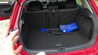 VOLKSWAGEN GOLF SPARE TIRE - Where to find it