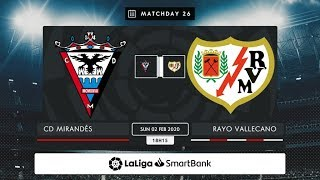 CD Mirandés Rayo Vallecano MD26 D1815