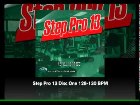 Step Pro 13 Disc One 128-130 BPM  Disc Two 128-135 BPM - Fitness Beat