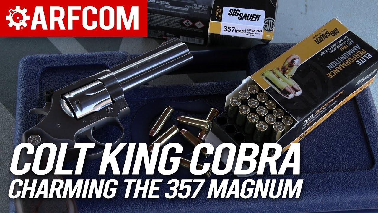 Colt King Cobra Target: Charming the 357 Magnum
