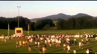 Massenschlägerei: Eintracht Frankfurt - Leeds