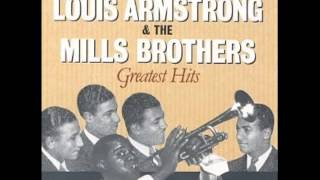 The Song is Ended - Louis Armstrong & the Mills Brothers