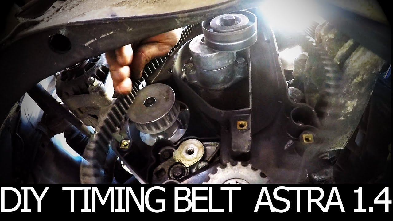 How To Replace A Timing Belt And Water Pump Yourself Opel Youtube Monza 160i Wiring Diagram