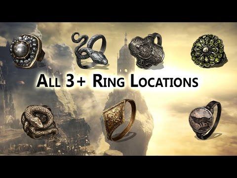 All Plus 3 Ring Locations Ringed City DLC - Dark Souls 3