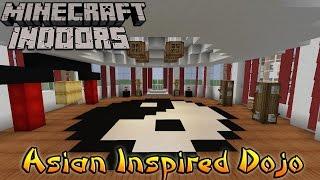 Minecraft Indoors Interior Design - Asian Inspired Dojo