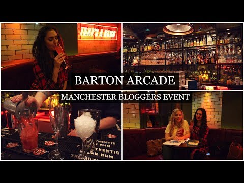 FOLLOW ME AROUND A MANCHESTER BLOGGERS EVENT