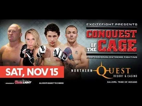 Conquest of the Cage November 15, 2014 (FULL EVENT)