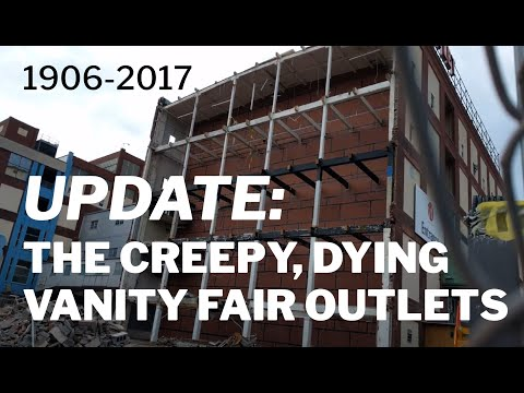 UPDATE on the Creepy, Dying Vanity Fair Outlets | West Reading, PA
