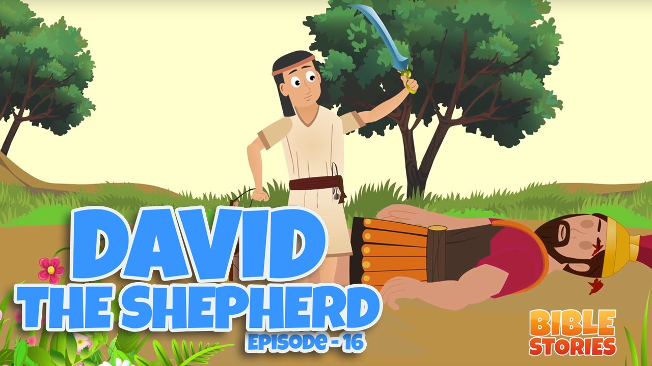 bible stories for kids david the shepherd episode 16 youtube