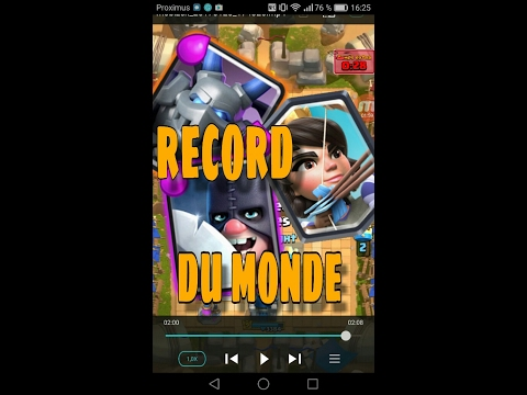 Records du monde /clash Royale ep. 1(ft. Mister_K)+MLG
