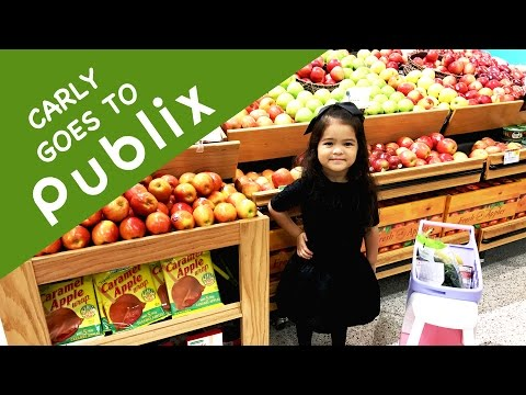 Carly goes to Publix!