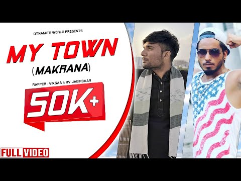 MY TOWN (Official Video) | Jagirdar RV Ft. VikSaa | Latest Hindi & Rajasthani Rap Song 2018