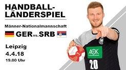 Länderspiel: Deutschland - Serbien
