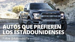 Autos que Prefieren los Estadounidenses | Julio 2017