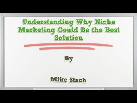 Understanding Why Niche Marketing Could Be the Best Solution