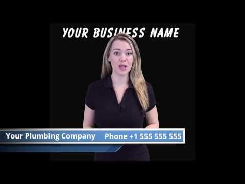 Plumber Video Commercial - Sample Video Marketing Benchmark Publishing Group